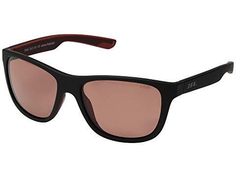 ZEAL OPTICS ローズ 【 ROSE ZEAL OPTICS RADIUM MATTE BRICK POLARIZED LENS 】 バッグ  眼鏡
