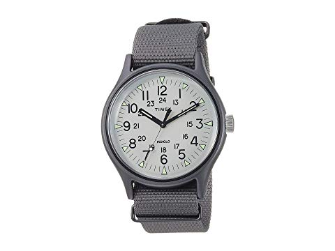 TIMEX タイメックス 銀色 シルバー 灰色 グレ 【 SILVER TIMEX MK1 ALUMINUM 3HAND GREY 】 腕時計 レディース腕時計