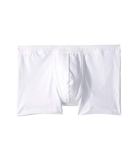 HANRO インナー 下着 ナイトウエア メンズ 【 Cotton Essentials Boxer Brief 】 White