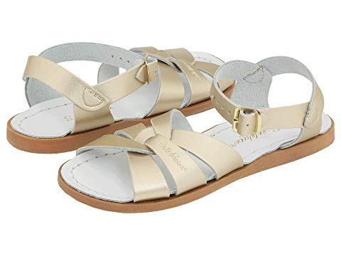SALT WATER SANDAL BY HOY SHOES キッズ ベビー マタニティ ジュニア 【 The Original Sandal (toddler/little Kid) 】 Gold