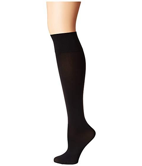 WOLFORD インナー 下着 ナイトウエア レディース 下 レッグ 【 Individual 50 Leg Support Knee-highs 】 Black