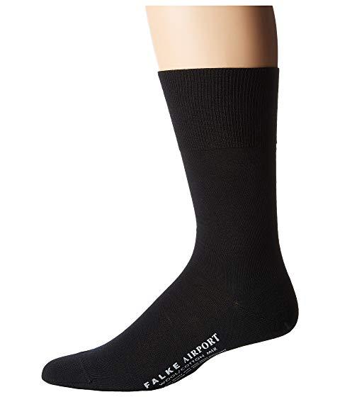 FALKE ソックス 靴下 インナー 下着 ナイトウエア メンズ 下 レッグ 【 Airport Crew Socks 】 Black