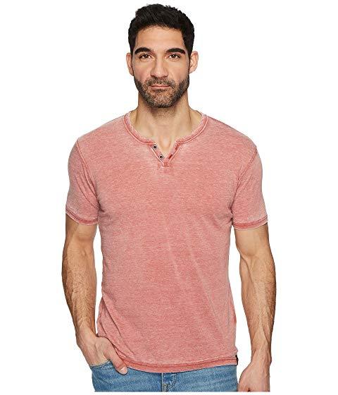 LUCKY BRAND 【 LUCKY BRAND BURNOUT BUTTON NOTCH SHIRT COWHIDE 】 メンズファッション トップス カジュアルシャツ