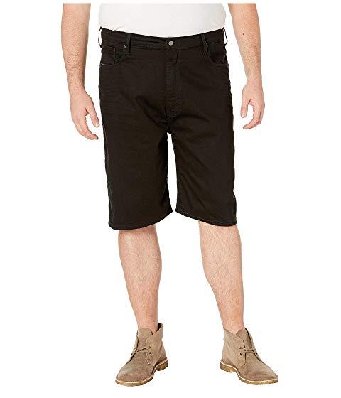 LEVI'S・・ BIG & TALL ショーツ ハーフパンツ 黒 ブラック LEVI'S・・ & 569・・ 【 BLACK BIG TALL LOOSE STRAIGHT 5POCKET SHORTS 3D STRETCH 】 メンズファッション ズボン パンツ