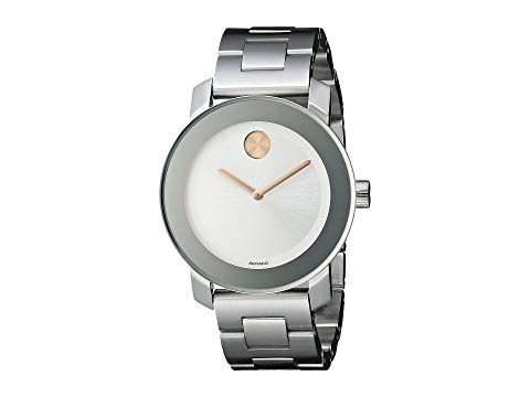MOVADO ステンレス 銀色 スチール 【 MOVADO BOLD 3600084 STAINLESS STEEL 】 腕時計 レディース腕時計
