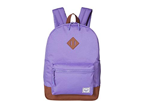 HERSCHEL SUPPLY CO. KIDS 子供用 バックパック バッグ リュックサック キッズ ベビー マタニティ ランドセル ジュニア 【 Heritage Youth Xl Backpack (youth) 】 Aster Purple/saddle Brown