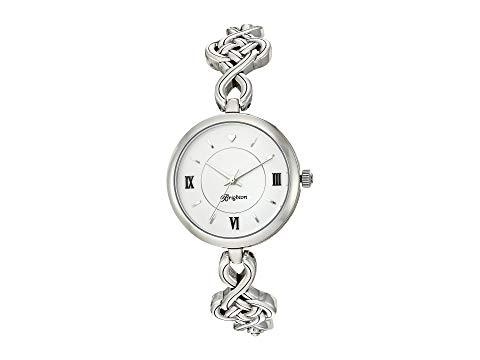 ブライトン BRIGHTON 銀色 シルバー 【 SILVER BRIGHTON INTERLOCK TIMEPIECE 】 腕時計 レディース腕時計