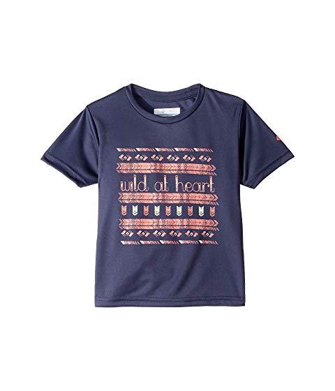 コロンビアキッズ COLUMBIA KIDS ワイルド スリーブ Heart・・ キッズ ベビー マタニティ トップス Tシャツ ジュニア 【 Wild At Heart・・ Short Sleeve Shirt (little Kids/big Kids) 】 Nocturnal/wild