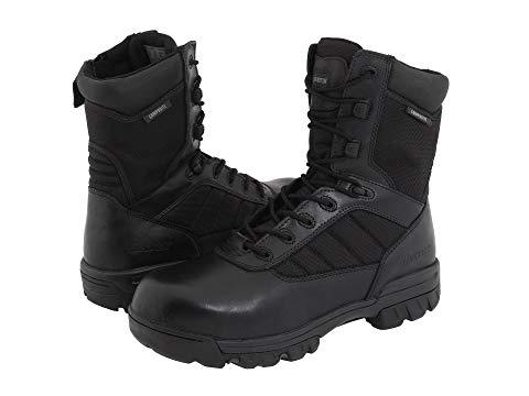 """【★スーパーセール中★ 6/11深夜2時迄】ベイツフットウエア BATES FOOTWEAR 8"""" メンズ ブーツ 【 8"""" Tactical Sport Composite Toe Side Zip 】 Black"""