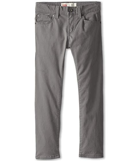 LEVI'S・・ KIDS 511・・ キッズ ベビー マタニティ ボトムス ジュニア 【 511・・ Sueded Pants (big Kids) 】 Dark Gull Grey