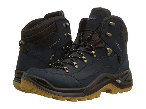 LOWA ミッド Gtx・・ メンズ ブーツ 【 Renegade Gtx・・ Mid 】 Navy/honey