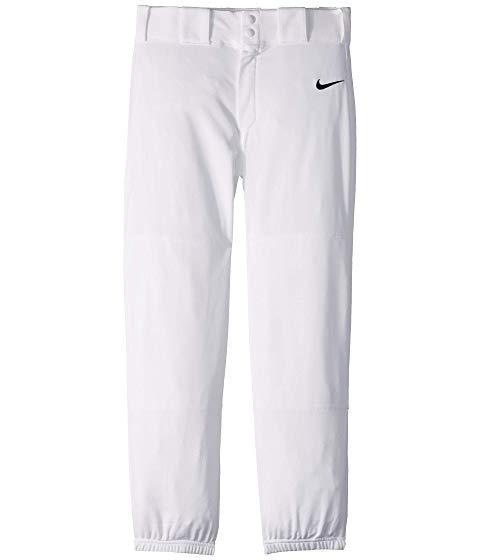 ナイキ キッズ NIKE KIDS コア ベースボール キッズ ベビー マタニティ ボトムス ジュニア 【 Core Elastic Baseball Pants (big Kids) 】 White/black