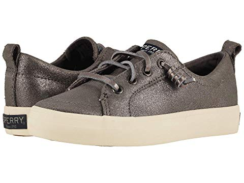 SPERRY KIDS バイブ キッズ ベビー マタニティ ジュニア 【 Crest Vibe (little Kid/big Kid) 】 Pewter Sparkle