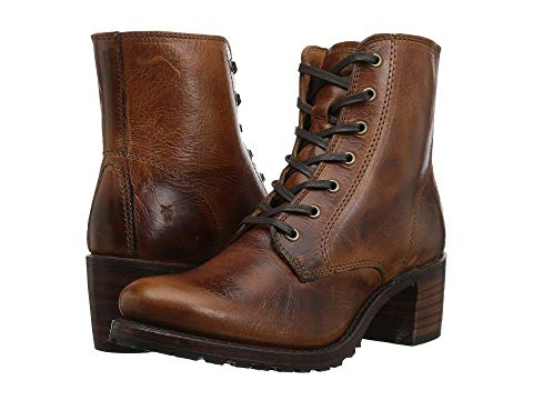 FRYE 【 SABRINA 6G LACE UP COGNAC OIL TANNED FULL GRAIN 】 送料無料