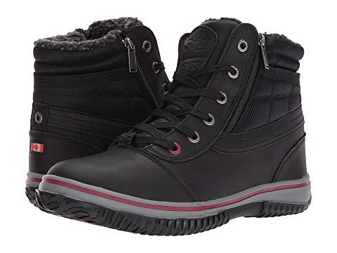 【★スーパーセール中★ 6/11深夜2時迄】PAJAR CANADA メンズ ブーツ 【 Tavin 】 Black Leather