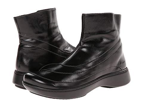 NAOT レディース 【 Tellin 】 Black Madras Leather