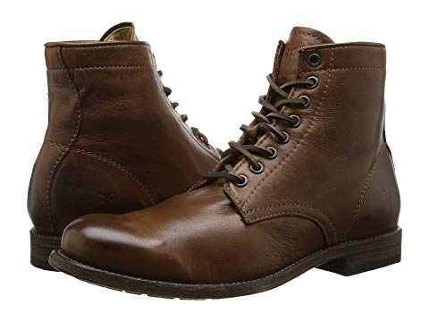 【NeaYearSALE1/1-1/5】FRYE ビンテージ ヴィンテージ 【 VINTAGE TYLER LACE UP COGNAC SOFT LEATHER 】 メンズ ブーツ 送料無料
