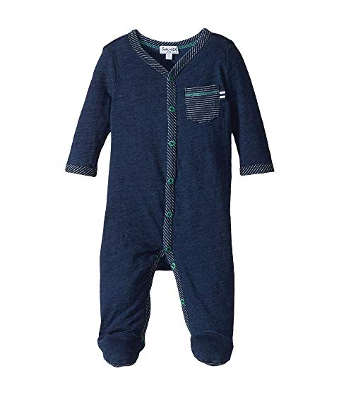 【海外限定】藍色 インディゴ ベビー服 キッズ 【 ALWAYS INDIGO COVERALL INFANT 】【送料無料】