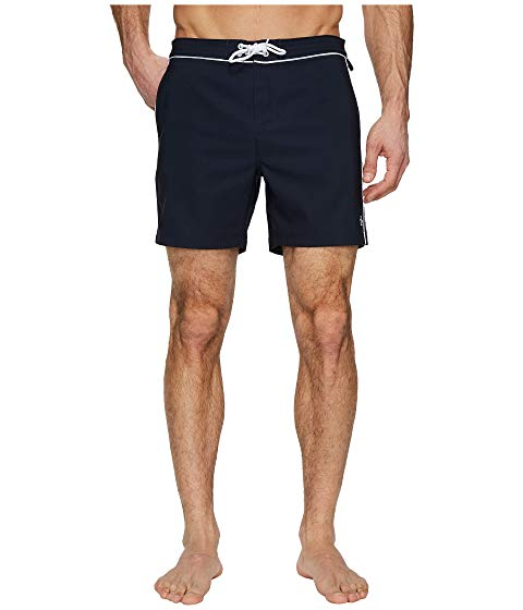 ORIGINAL PENGUIN 【 THE EARL VOLLEY SWIM DARK SAPPHIRE 】 メンズファッション 水着 送料無料