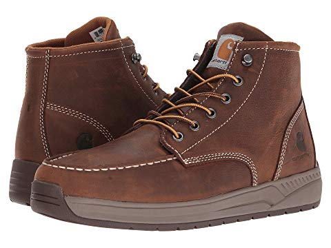"""【NeaYearSALE1/1-1/5】カーハート CARHARTT 4"""" 【 LIGHTWEIGHT WEDGE BOOT BROWN OIL TANNED LEATHER 】 メンズ ブーツ 送料無料"""