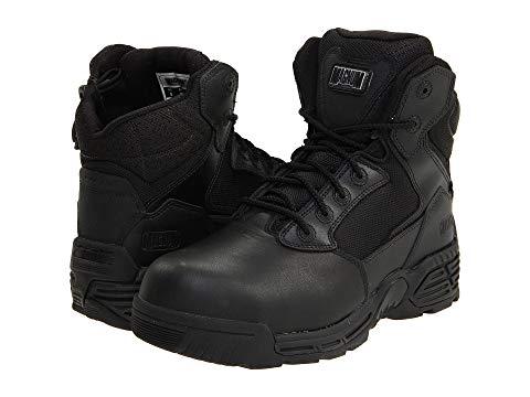 【NeaYearSALE1/1-1/5】MAGNUM ステルス 6.0 【 STEALTH FORCE SIDEZIP COMPOSITE TOE BLACK 】 メンズ ブーツ 送料無料