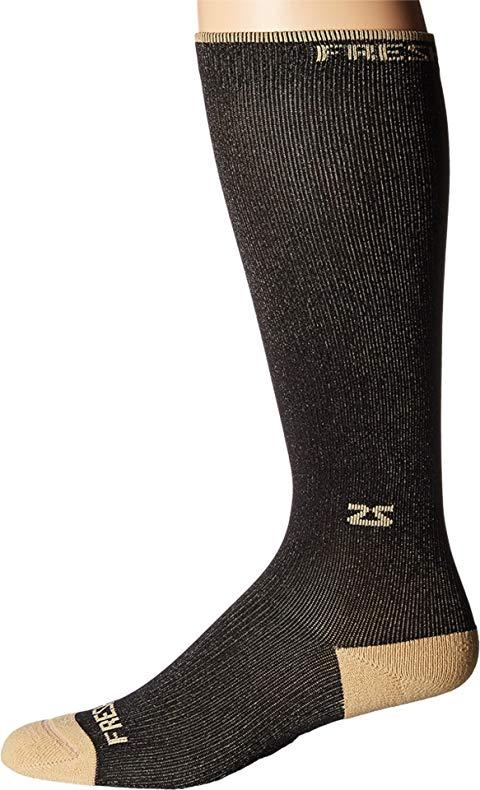 ZENSAH フレッシュ コンプレッション ソックス 靴下 黒 ブラック 【 BLACK ZENSAH FRESH LEGS COPPER COMPRESSION SOCKS 】 インナー 下着 ナイトウエア ユニセックス 下 レッグ