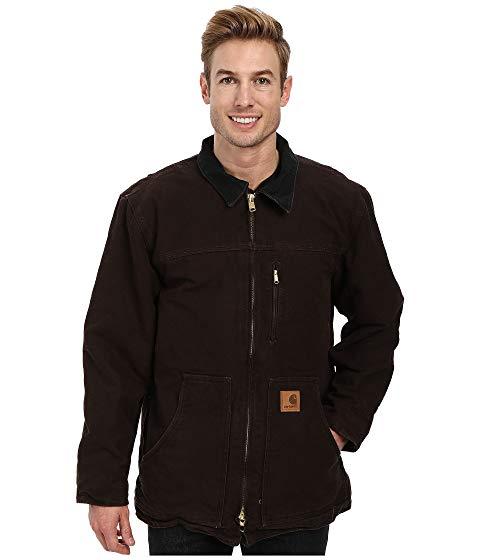 カーハート CARHARTT 茶 ブラウン 【 BROWN CARHARTT SANDSTONE RIDGE COAT DARK 】 メンズファッション コート ジャケット