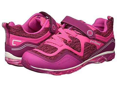 PEDIPED キッズ ベビー マタニティ ジュニア 【 Force Flex (toddler/little Kid) 】 Hot Pink