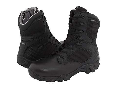 ベイツフットウエア BATES FOOTWEAR GORETEX? 【 GX8 SIDEZIP BLACK 】 メンズ ブーツ 送料無料