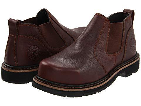 IRISH SETTER 銀色 スチール メンズ ブーツ 【 83300 Steel Toe Romeo 】 Brown