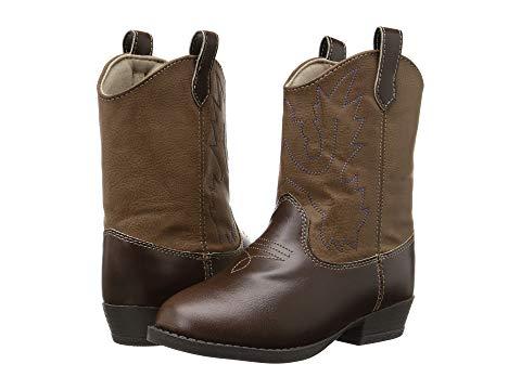 ベイビーディア BABY DEER ブーツ キッズ ベビー マタニティ ジュニア 【 Western Boot (toddler/little Kid) 】 Brown