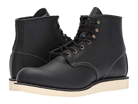 "RED WING HERITAGE ローバー 6"" メンズ ブーツ 【 6"" Rover Round Toe 】 Black Harness"