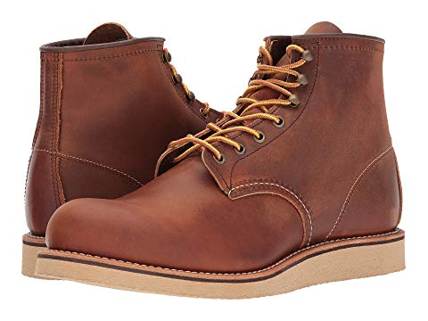 "【NeaYearSALE1/1-1/5】RED WING HERITAGE ローバー 6"" 【 ROVER ROUND TOE COPPER ROUGH AND TOUGH 】 メンズ ブーツ 送料無料"