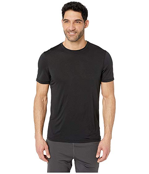 JOCKEY ACTIVE スリーブ コア Tシャツ 黒 ブラック 【 SLEEVE BLACK JOCKEY ACTIVE SHORT CORE TEE 】 メンズファッション トップス Tシャツ カットソー