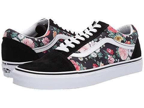 バンズ VANS Skool・・ スニーカー メンズ ユニセックス 【 Old Skool・・ 】 (garden Floral) Black/true White