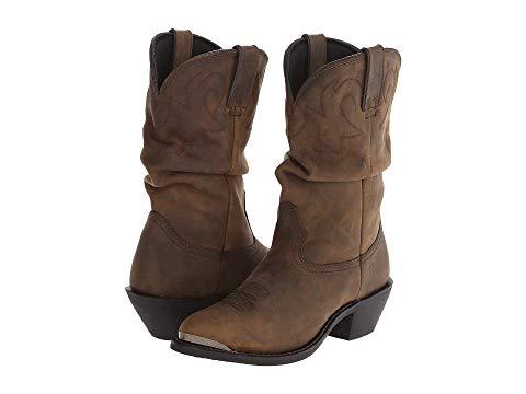 """デュランゴ DURANGO ブーツ 11"""" レディース 【 11"""" Slouch Boot 】 Tan"""