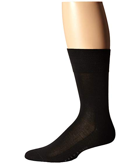 FALKE ソックス 靴下 インナー 下着 ナイトウエア メンズ 下 レッグ 【 Tiago Crew Socks 】 Black