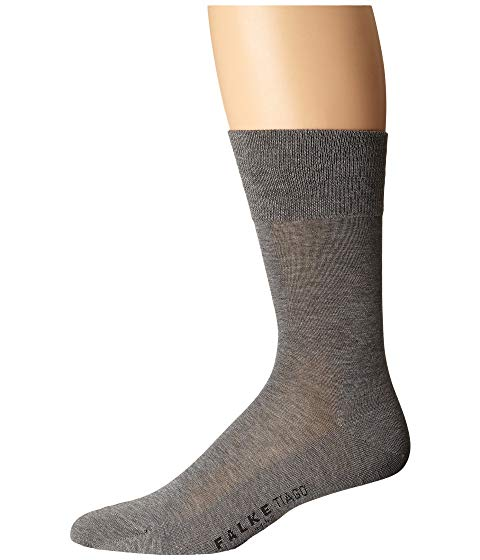 FALKE ソックス 靴下 インナー 下着 ナイトウエア メンズ 下 レッグ 【 Tiago Crew Socks 】 Light Grey