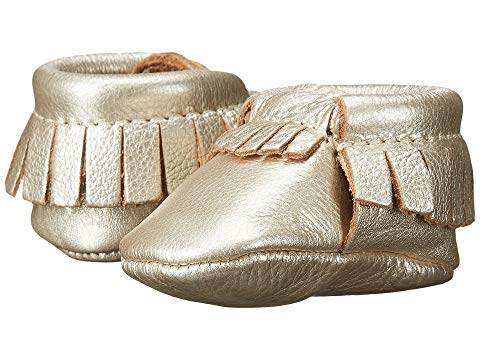 FRESHLY PICKED キッズ ベビー マタニティ ジュニア 【 Soft Sole Moccasins (infant/toddler) 】 Platinum