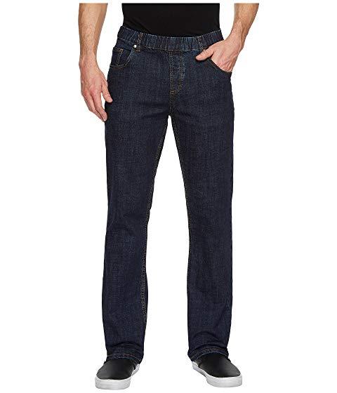 NBZ? 【 ELASTIC WAIST STRAIGHT LEG JEAN IN ELECTRIC BLUE 】 メンズファッション ズボン パンツ 送料無料