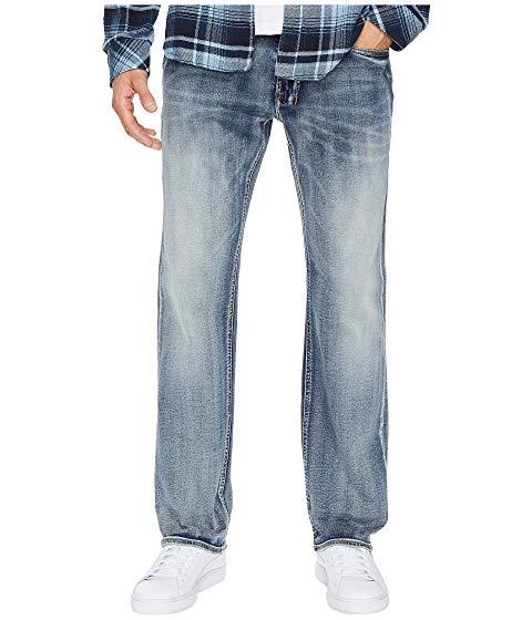 【★スーパーセール中★ 6/11深夜2時迄】バッファローデビットビトン BUFFALO DAVID BITTON メンズファッション ズボン パンツ メンズ 【 Six-x Straight Leg Jeans In Sanded And Faded 】 Sanded And Faded