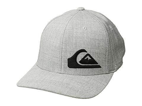 QUIKSILVER クイックシルバー 灰色 グレ ヘザー 【 QUIKSILVER HEATHER FINAL LIGHT GREY 】 バッグ  キャップ 帽子 メンズキャップ 帽子