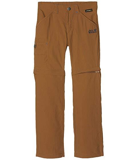 JACK WOLFSKIN KIDS サファリ キッズ ベビー マタニティ ボトムス ジュニア 【 Safari Zip Off Pants (little Kid/big Kid) 】 Bark Brown