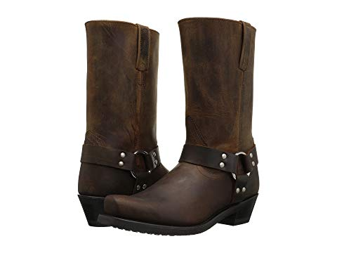 OLD WEST BOOTS ブーツ レディース 【 Harness Boot 】 Brown Distressed