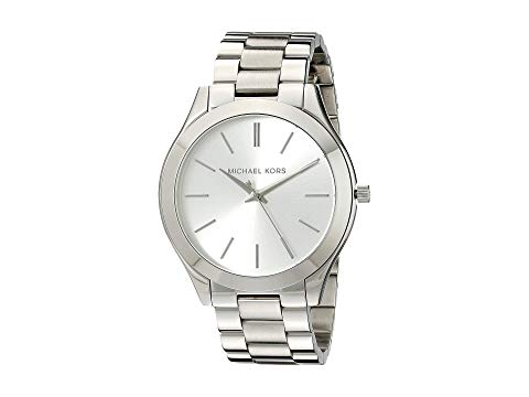 MICHAEL KORS スリム 銀色 シルバー 【 SLIM SILVER MICHAEL KORS MK3178 RUNWAY 】 腕時計 レディース腕時計