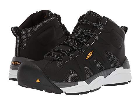 【★スーパーセール中★ 6/11深夜2時迄】KEEN UTILITY ミッド メンズ ブーツ 【 San Antonio Mid Aluminum Toe 】 Black/silver