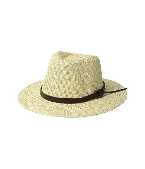 【海外限定】レザー & レディース帽子 ブランド雑貨 【 CUT SEW PAPER FEDORA W FAUX LEATHER BAND 】
