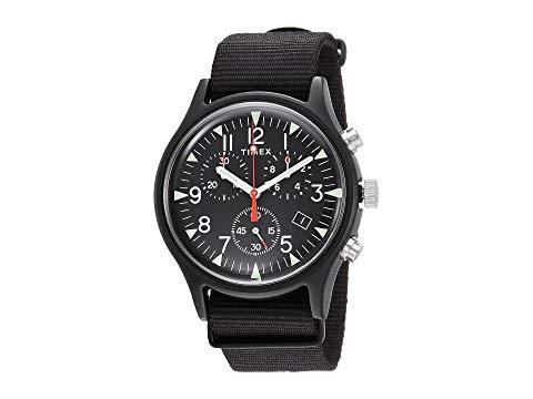 TIMEX タイメックス 黒 ブラック 【 BLACK TIMEX MK1 ALUMINUM CHRONO 】 腕時計 レディース腕時計