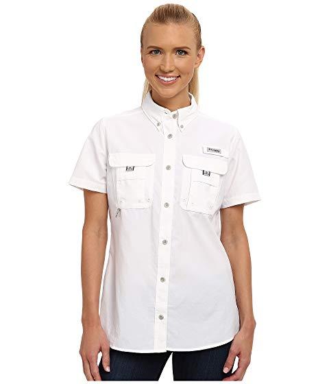 コロンビア COLUMBIA 半袖 Tシャツ BAHAMA? 【 S SHIRT WHITE 】 レディースファッション トップス 送料無料