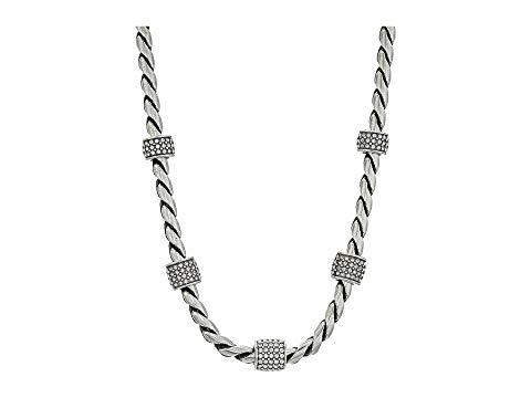 ブライトン BRIGHTON ネックレス 銀色 シルバー ジュエリー アクセサリー レディース 【 Meridian Necklace Silver Stone 】 Crystal
